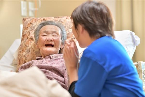 介護の必要なお年寄り